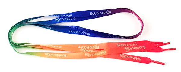Reklamní tkaničky Bubblelogy
